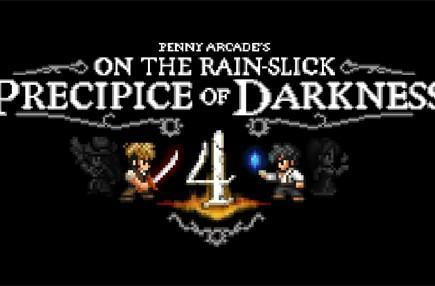 Penny Arcade's On the Rain-Slick Precipice of Darkness 4 teases in first trailer