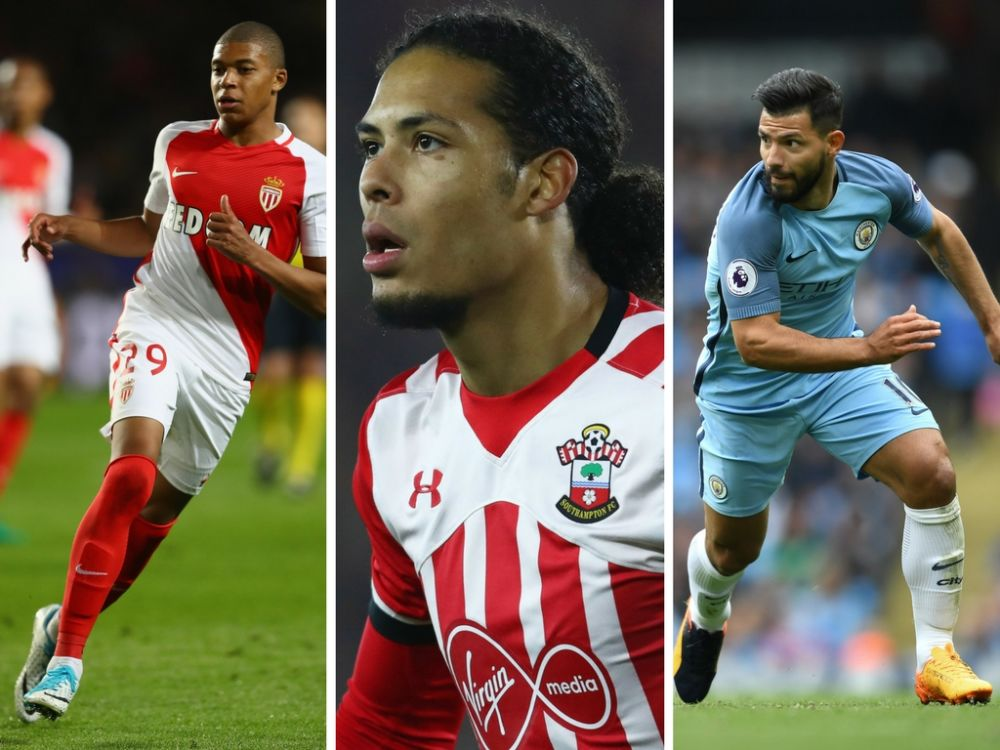 Mbappe, Van Dijk and Aguero: In demand and set for moves?