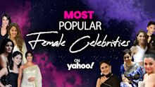 Most Popular Female Celebrities on Yahoo India