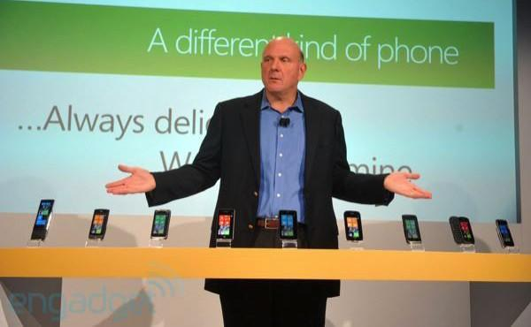 Steve Ballmer: Windows Phone 7 Mango bekommt 500 neue Features