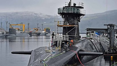 Cover-up claims over Trident test failure