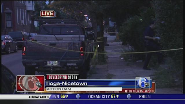 Police fire at home invasion suspects in Tioga-Nicetown
