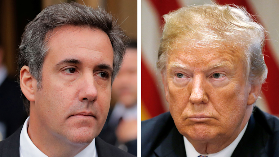 Dems react to bombshell Trump, Cohen report