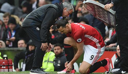 """Premier League: Jose Mourinho: """"Ich war nicht von Zlatan enttäuscht"""""""