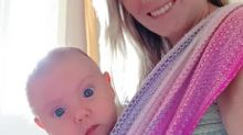Mother refuses to put nappies on her two-week-old baby as she is 'toilet training' her