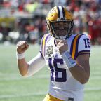 Danny Etling is LSU's starting quarterback