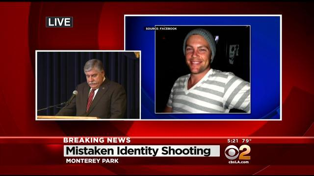 LA County Sheriff's Department Says Fatal WeHo Shooting Case Of Mistaken Identity