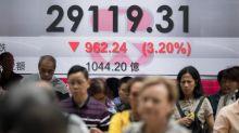 El Hang Seng cae en otra jornada marcada por la incertidumbre por protestas