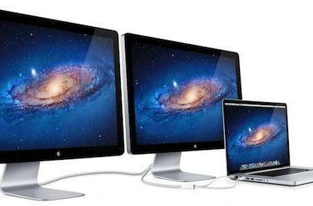 Apple leaks Cinema Display refresh, teases dual-monitor Thunderbolt setup?