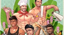 Singaporean artist reimagines local food mascots as sexy hunks