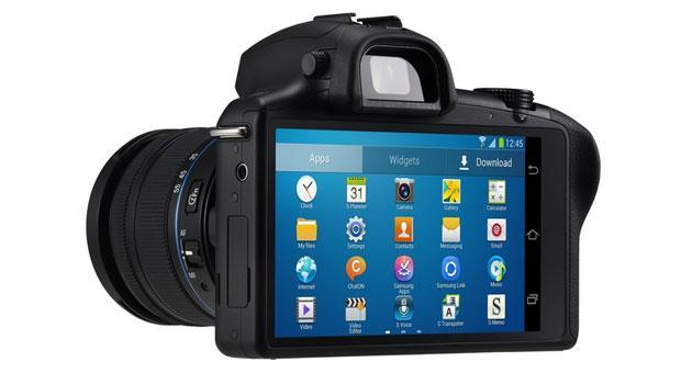 Samsung Galaxy NX mirrorless camera official: Interchangeable lenses, Android Jelly Bean and 4G LTE