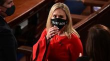 Congresista republicana Marjorie Taylor Greene presenta artículos para destituir a Joe Biden