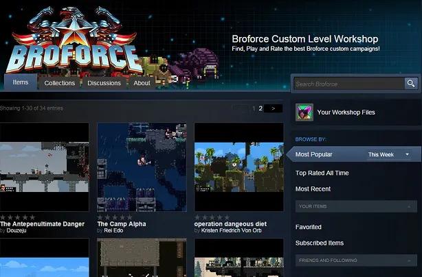 Broforce gets level editor, Mad Max and Kill Bill bros