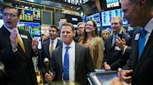 Stocks - Wall Street Tumbles After Brief Yield Curve Inversion
