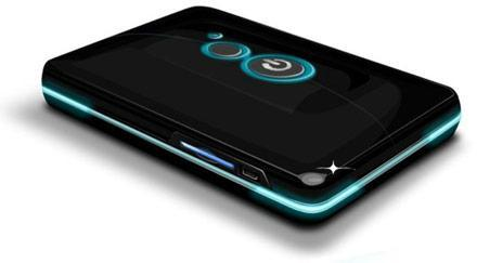 Agere's BluOnyx portable Bluetooth media streamer for your phone