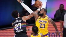 Jamal Murray defies LeBron James, laws of physics with Michael Jordan-esque lay-up