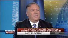 Mike Pompeo Fumes Over Fox News Host's Question On Trump's Foreign Intel Remarks
