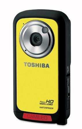 Toshiba's waterproof Camileo BW10 does 1080p video, 5 megapixel stills for $150