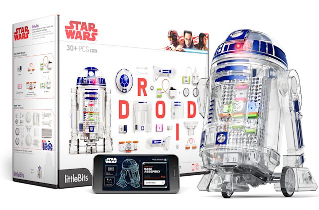 littleBits' Droid Inventor Kit teaches kids tech with 'Star Wars'