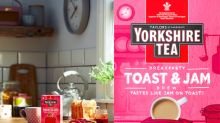 Breakfast in a mug? Yorkshire Tea launches toast and jam flavour combo