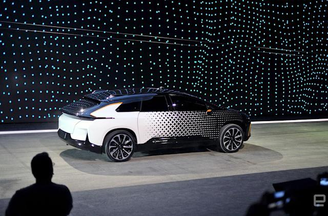 Faraday Future will test its electric SUV by climbing Pikes Peak
