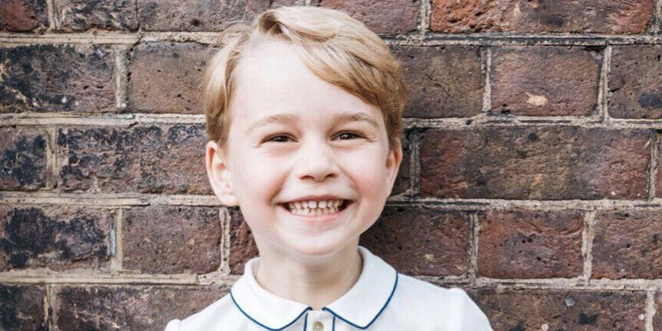 Prince George Has a New Portrait for His Fifth Birthday and It's So Precious