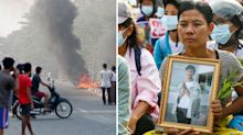 Distressing mass killing of 43 children