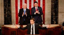 Devant le Congrès, Macron appelle Trump à préserver le multilatéralisme
