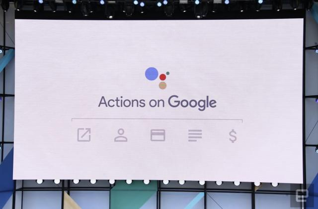 'Actions on Google' lets app developers work inside Assistant