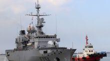 Frégate française dans le détroit de Taïwan le 6 avril, selon des responsables US