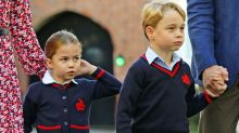 Prince George and Princess Charlotte's school has been affected by coronavirus