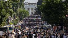 美國抗議活動追蹤:全國各地遊行壯大;增派華盛頓的國民警衛隊將撤離