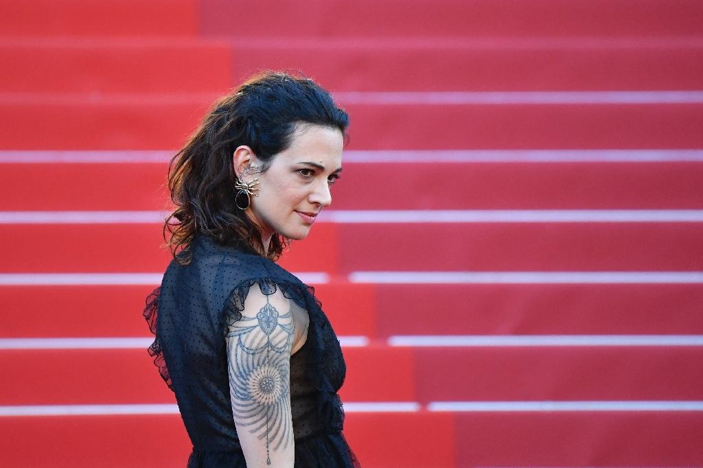 Italian actress Asia Argento Argento, seen here in Cannes earlier this year, said that Harvey Weinstein forced oral sex on her 20 years ago (AFP Photo/Alberto PIZZOLI)