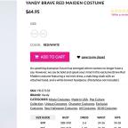 'Tone Deaf' Handmaid's Tale Mini-Dress Costume Removed From Sale