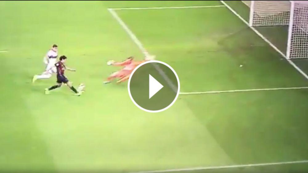VIDEO: ¡Matigol! Fernández anotó por primera vez en el Milan