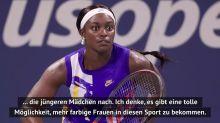 """US Open: Stephens: """"Tennis als großartige Möglichkeit für schwarze Spielerinnen"""""""