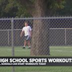 Safety Is The Name Of The Game As High Schools Resume Sports Practice