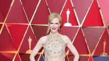 Alterado el vestido de Nicole Kidman en pleno Oscar