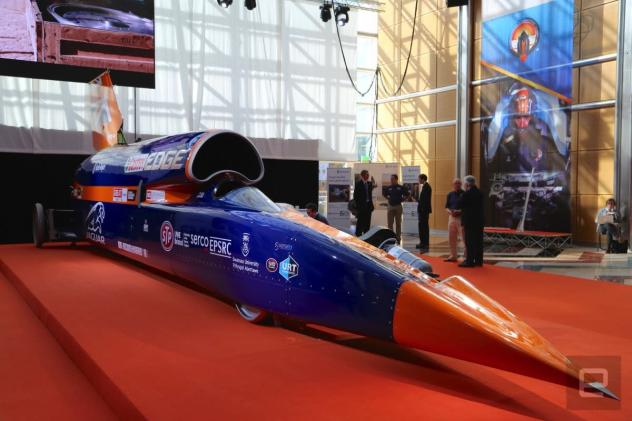 Bloodhound's land speed record attempt delayed until 2017