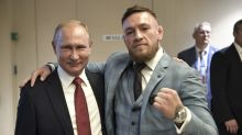 UFC champ Conor McGregor was a guest of Vladimir Putin at the World Cup final