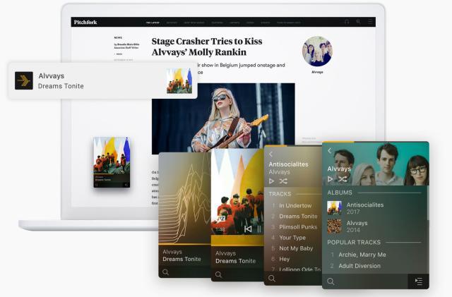 Plex's incubator launches a Winamp-inspired music player