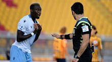 Moviola Lecce-Lazio: morso di Patric, goal annullato e rigore per i giallorossi