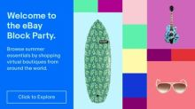 eBay Invites Shoppers To Fill Their Carts With Color At First Virtual Block Party