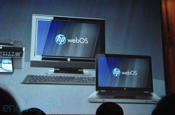 WebOS will be on 'every HP PC' shipping next year, says CEO