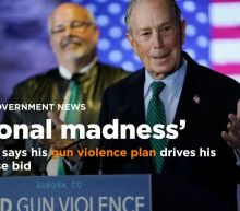 Bloomberg says ending 'nationwide madness' of gun violence drives his presidential bid