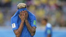 Neymar mocked after spectacular dive for Brazil