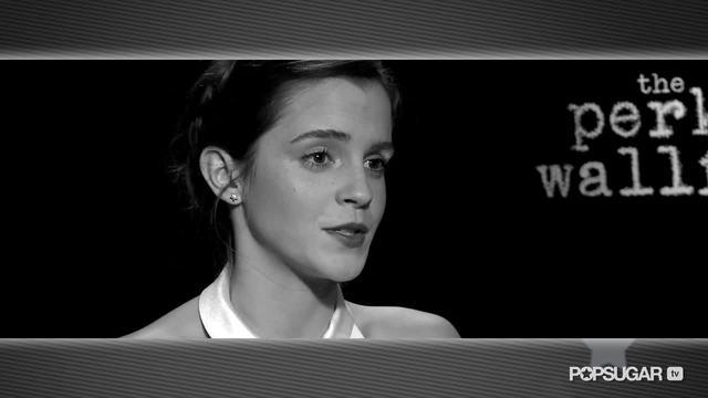 Perks Star Emma Watson Talks About Her Unspoken Connection With Logan Lerman