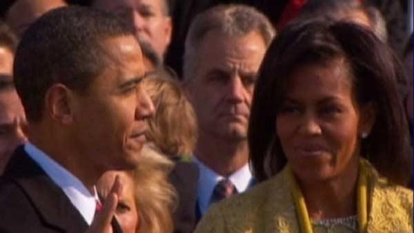 Obama to be sworn in for 2nd term at White House