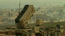 US missiles begin to protect Turkey from Syria