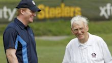 Pitt to honor Dan Rooney at spring game with special helmet (Video)